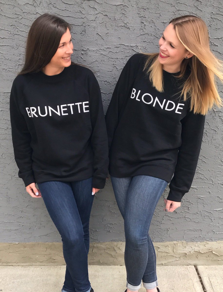 Blonde And Brunette Quotes : blonde, brunette, quotes, Kingsway, Twitter:,