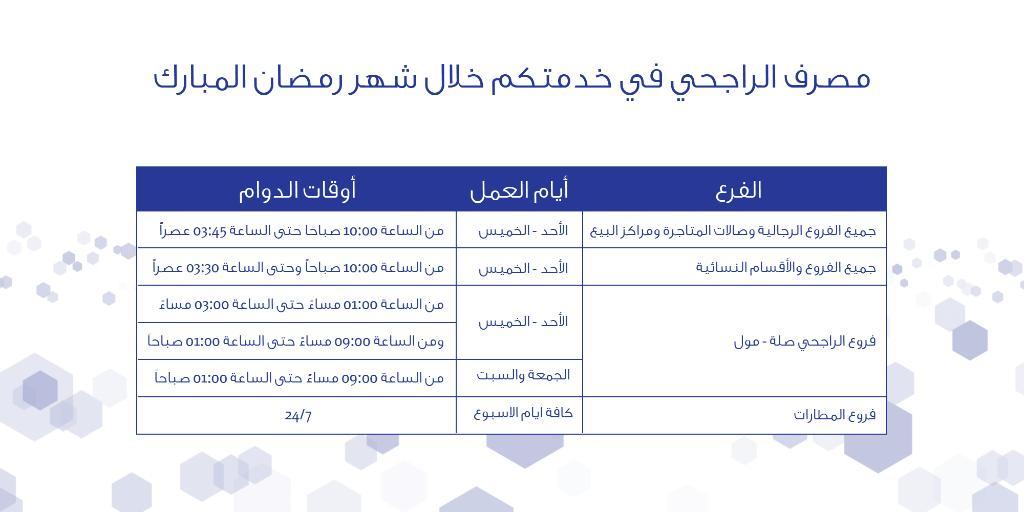 بنك البلاد Bank Albilad On Twitter أوقات دوام بنك البلاد من