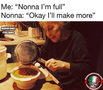 """Hardcore Italians on Twitter: """"Every Italian nonna ever 😂🇮🇹… """""""