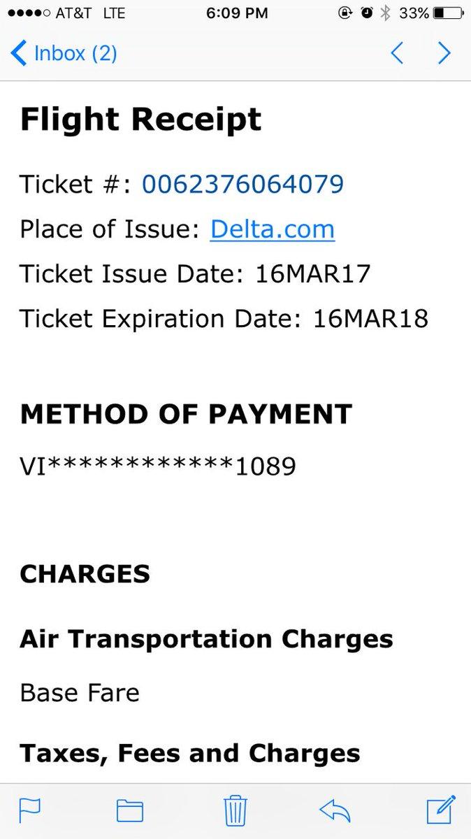 Delta Baggage Receipt : delta, baggage, receipt, Delta, Twitter:,
