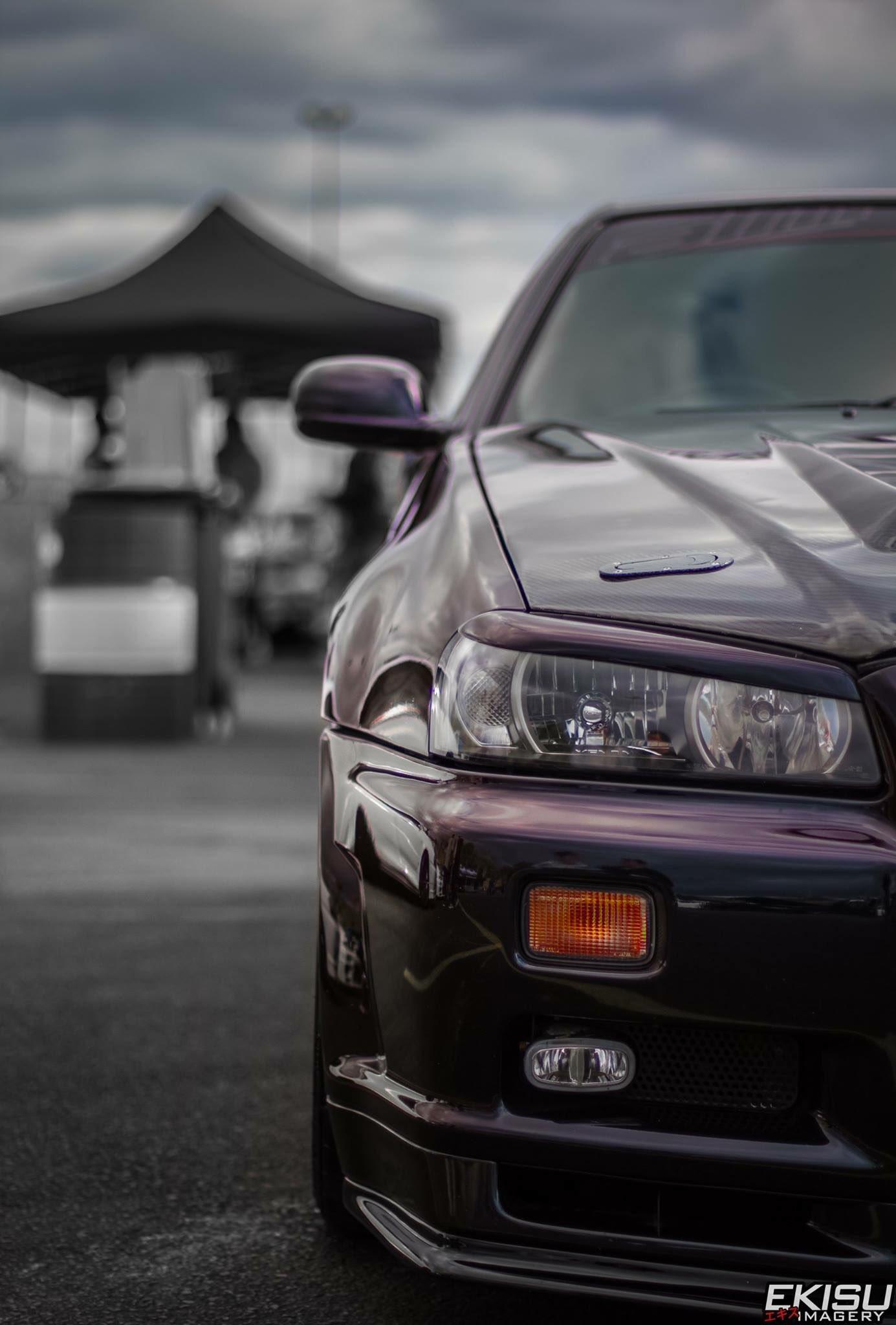 Hd Jdm Car Wallpapers Ekisuimagery On Twitter Quot Nissan R34 Gtr Mobile Wallpaper