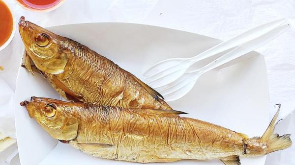 Smoked Lake Michigan Smoked Lake Michigan chubs from