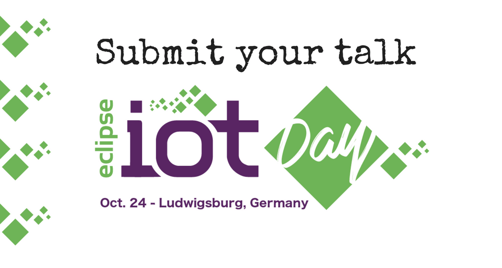 Eclipse IoT @EclipseCon Europe 2017 When: Oct. 24 Why: #IoT is awesome