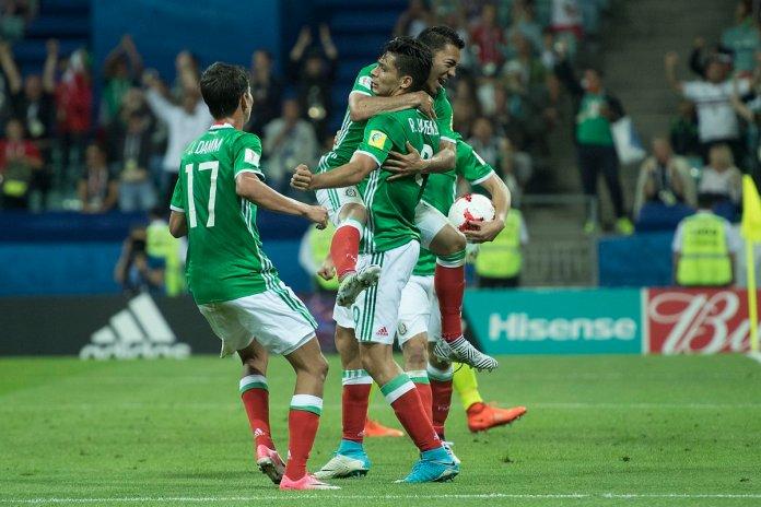 Goles de México vs Nueva Zelanda Confederaciones 2017
