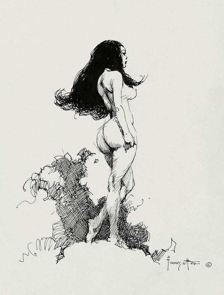 Frazetta Women : frazetta, women, Frank, Frazetta, Twitter:,