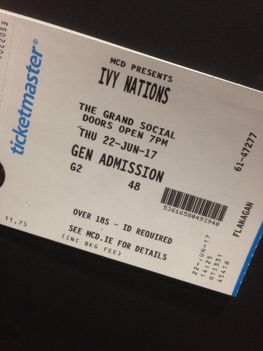 Wooo! Can't wait to see @IvyNations & @CITIESIreland tonight!🙌🏻😍 https://t.co/JQx26B2pbc