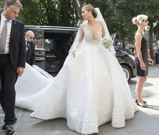 Wedding Porn Alert Wait Until You Hear How Much Victoria Swarovskis Dress Cost  F F   Https