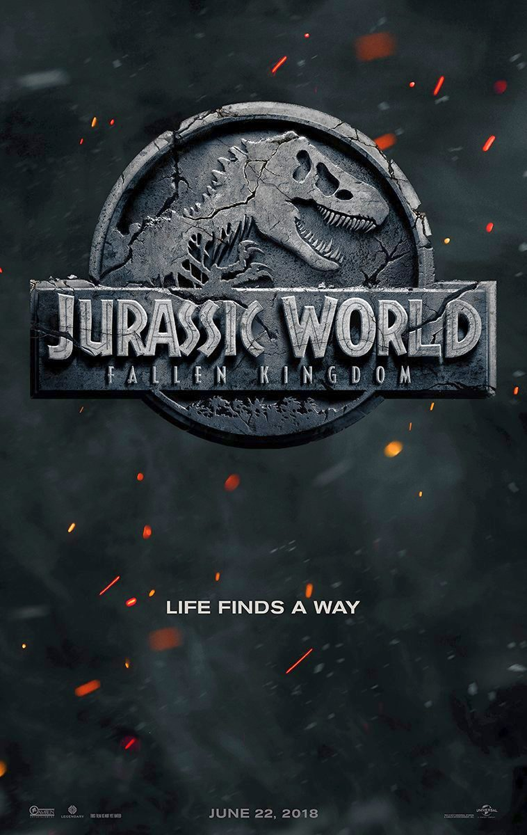 Jurassic World 2 Poster And Title Revealed