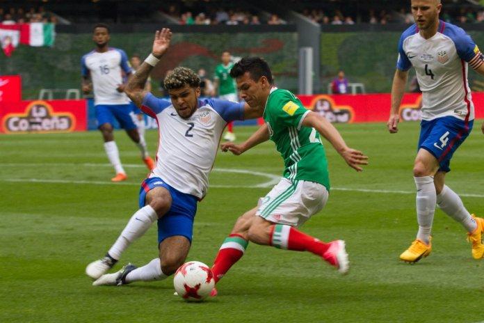 Goles de Estados Unidos vs México 2017