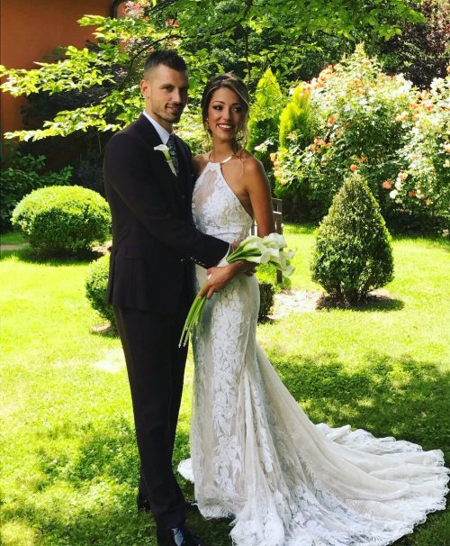 Image result for Morgan Schneiderlin wedding