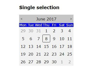 Flexible Datepicker For Angular 2 – ng-imbaDatepicker