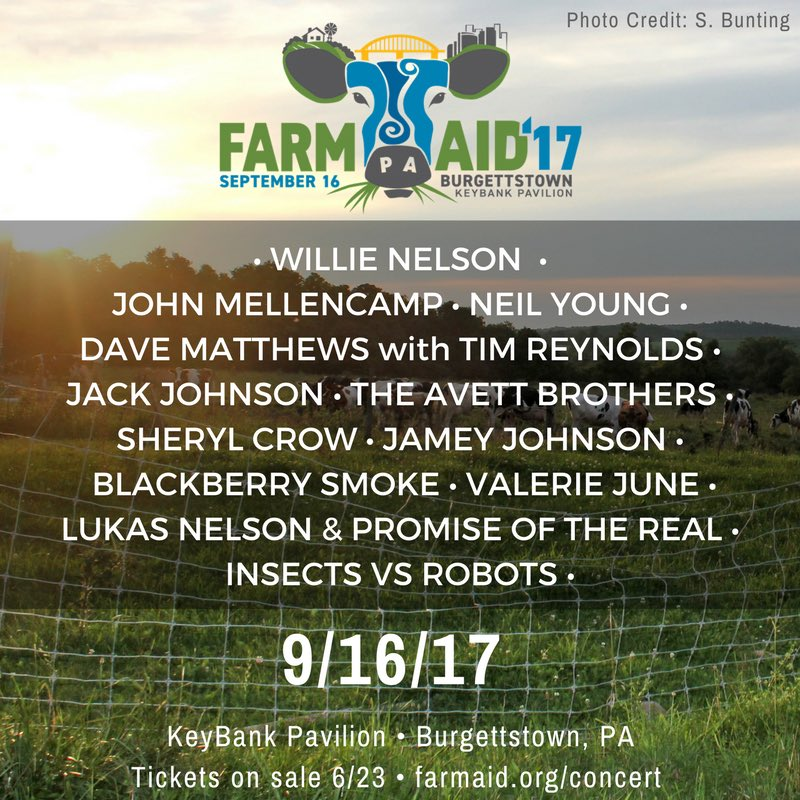 Image result for farm aid 2017