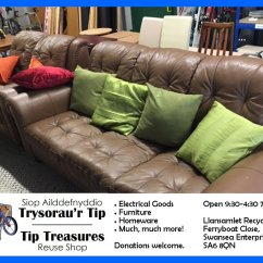 Leather Sofas Swansea Enterprise Park Costco Sofa Warranty Recycle4swansea On Twitter The Tip Treasures Reuse Shop In Llansamlet Stocks All Manner Of Things Including Kitchen Or Bathroom Sink Http Www Gov Uk Reuseshop