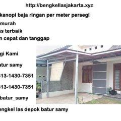 Harga Kanopi Baja Ringan Jakarta Timur Batur Samy Twitter