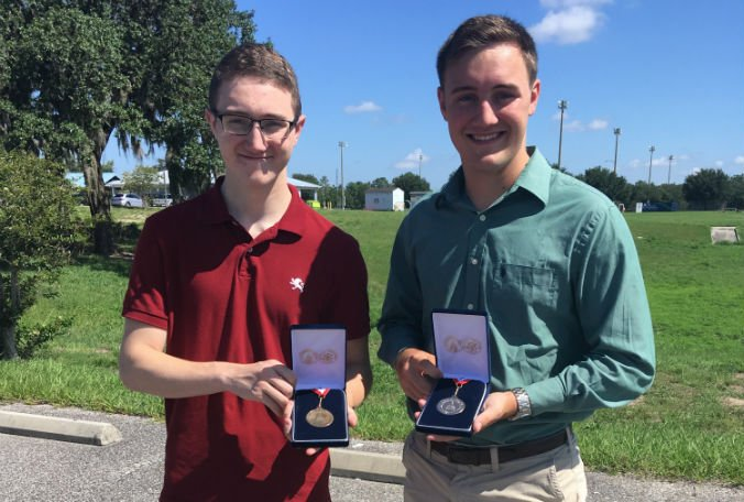 Brothers from Hernando County receive Congressional Award Gold Medal