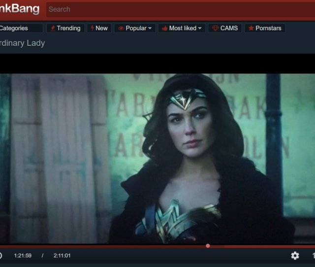They Really Put The Entire Wonder Woman Movie On Spankbang Lmao