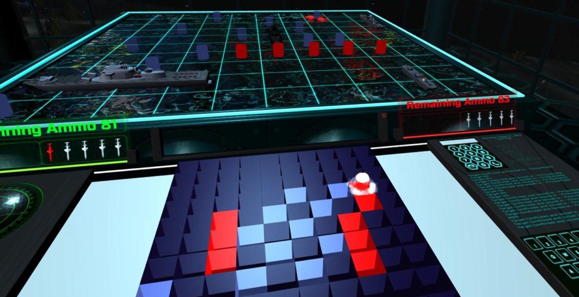 Salvo for @OculusRift aims to make Battleships a more tense prospect:  #VR
