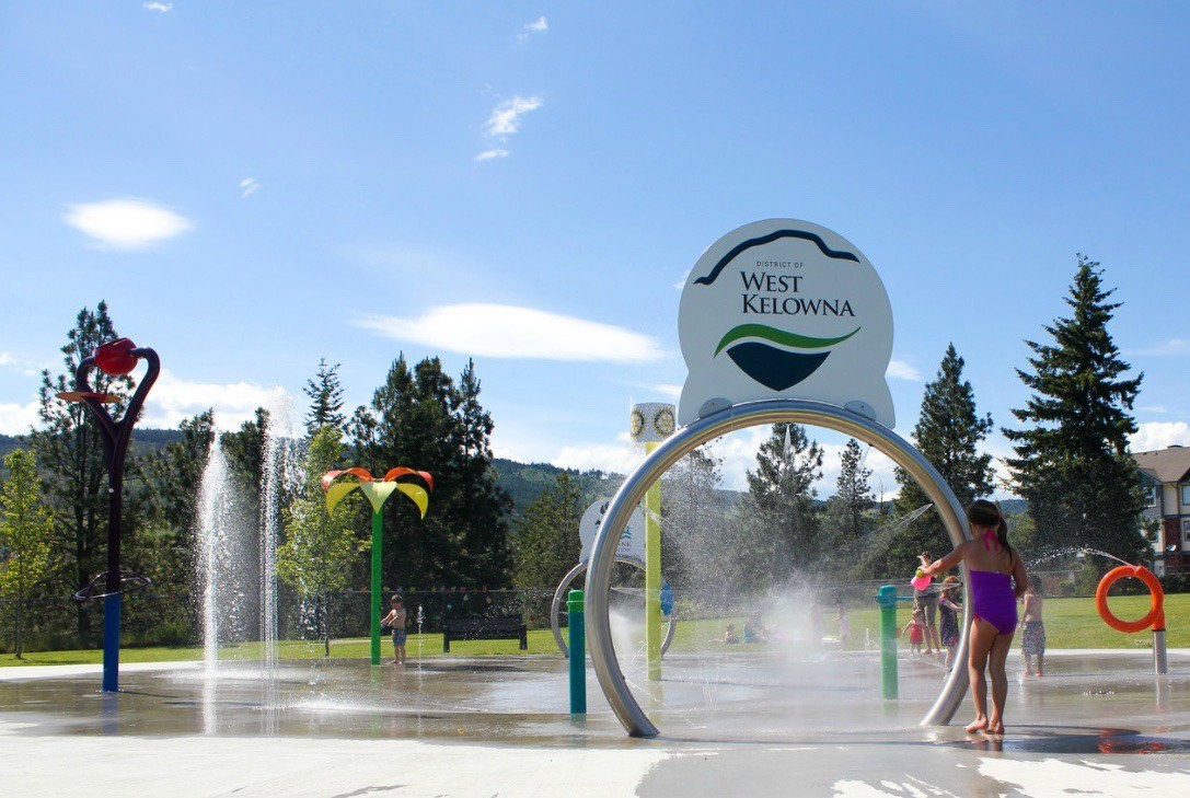 test Twitter Media - Beat the heat with a trip to the Kids Spray Park. It's going to be hot this weekend! Find it on May St. #WestKelowna #Okanagan https://t.co/XVM3JD7A4E