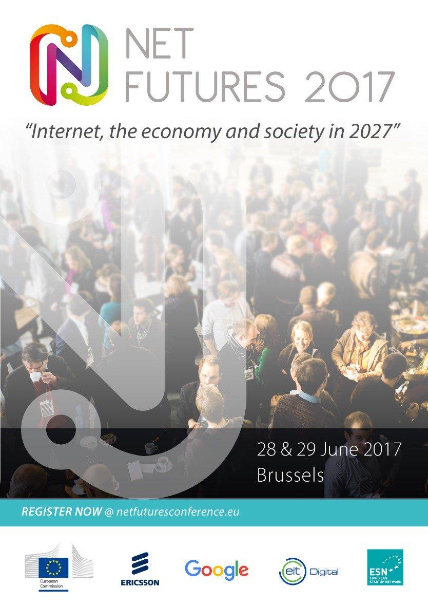As of tomorrow, @netfuturesEU will gather European #IoT community in Brussels.