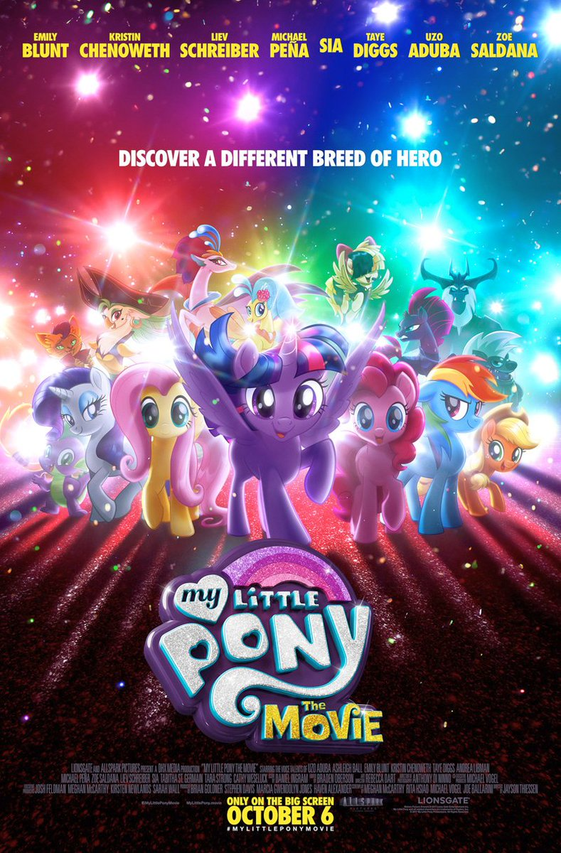 My Little Pony: The Movie Poster Unveiled