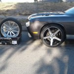 Custom Wheel Outlet On Twitter Check Out These Strada Wheels On This Dodge Challenger Cwo Customwheels Dodge Challenger