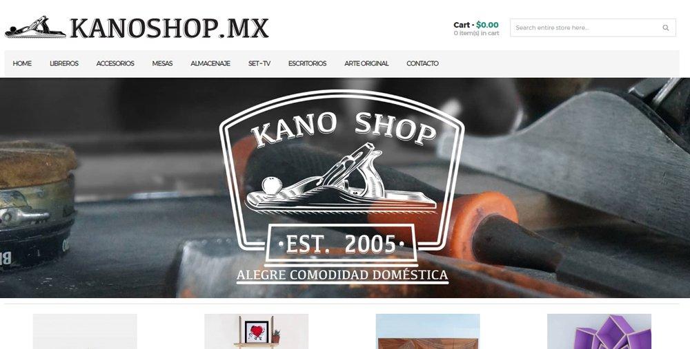 Mueblería online: Kano shop
