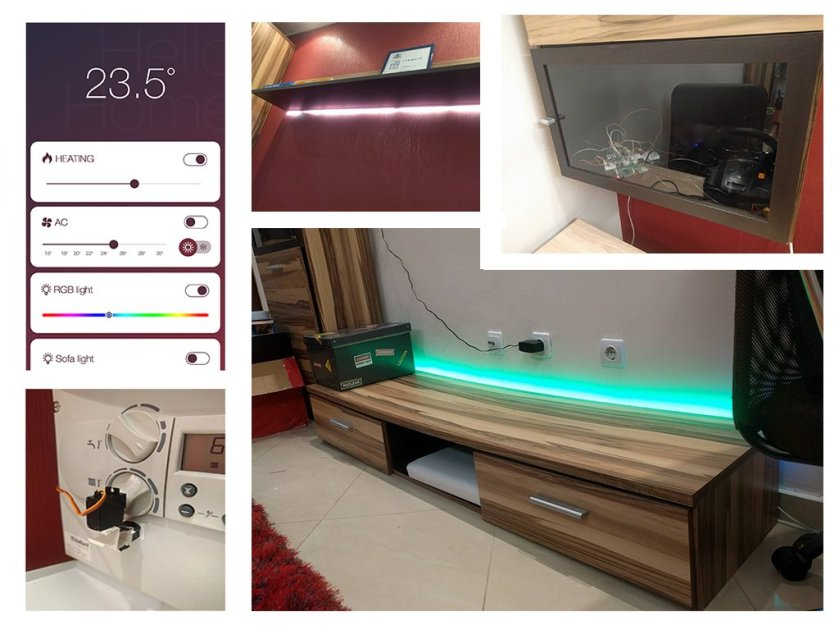 Home automation with #RaspberryPi, #NodeJS and #ReactJS  #HackerNews