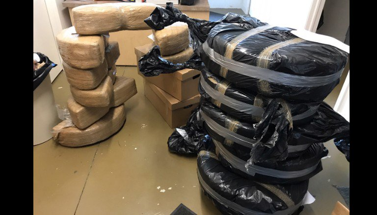 180 kilos of weed found in new Ford Fusions shipped from Mexico