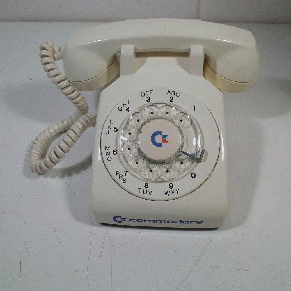medium resolution of the ultimate accessory set for your vicmodem a commodore branded rotary phone