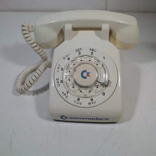 small resolution of the ultimate accessory set for your vicmodem a commodore branded rotary phone