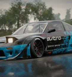 jason the f l g on twitter when astrogaming and logitechg come together great things happen nissan 240sx rb created and shared in forza horizon  [ 1200 x 675 Pixel ]