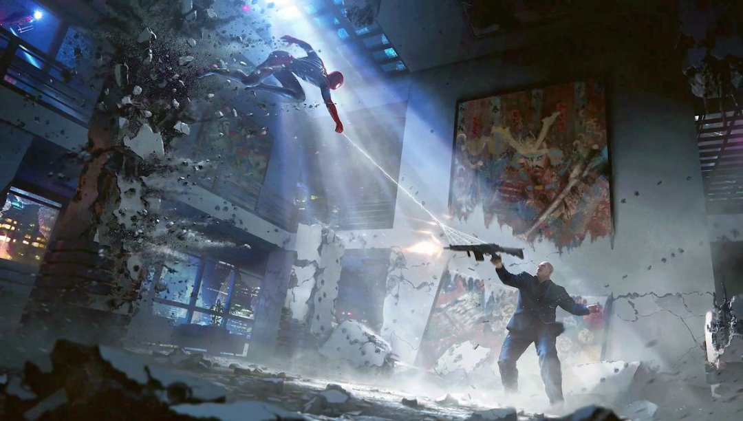 Marvel's Spider-Man PS4 Concept Art
