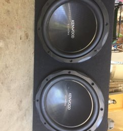 jake baranowski on twitter got 2 12 kenwood subs for sale with a kenwood 1000w amp all you need is wires hmu if you re interested  [ 900 x 1200 Pixel ]