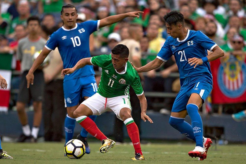 Resumen: México vs El Salvador Copa Oro 2017