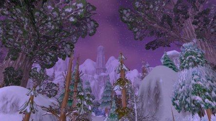 🏹Adri🏹 on Twitter: Elven architecture in Winterspring #warcraft