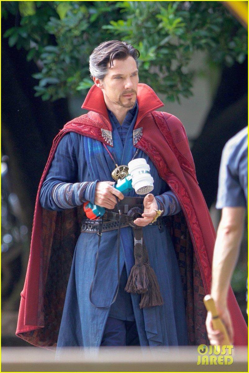 Avengers: Infinity War Set Photos Featuring Paul Rudd, Benedict Cumberbatch & More 9
