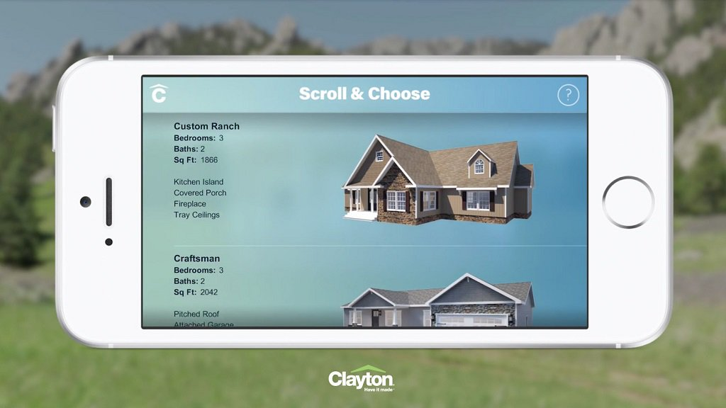 Clayton Homes release #AR app Home Previewer for iOS: