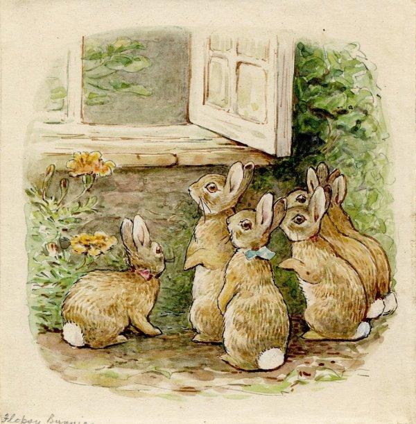 Author Beatrix Potter Born In 1866