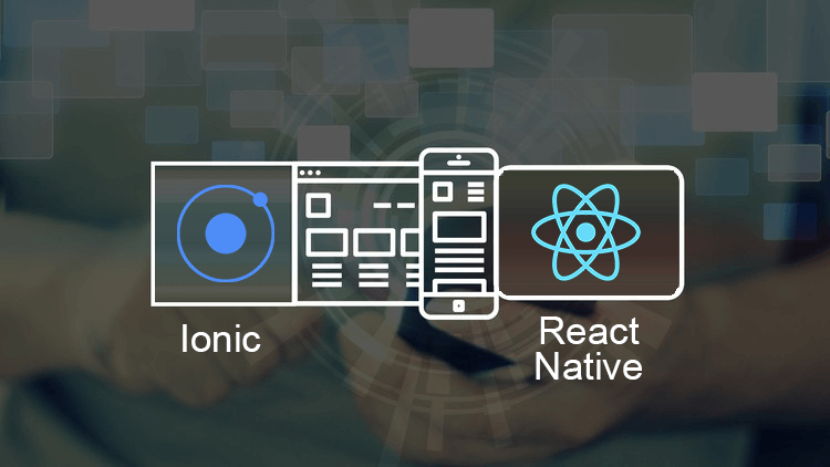 Difference between Ionic and #reactnative