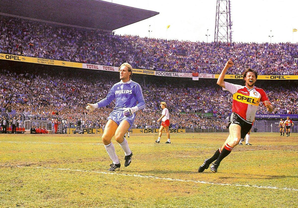 goal by dave mitchell 1989 feyenoord