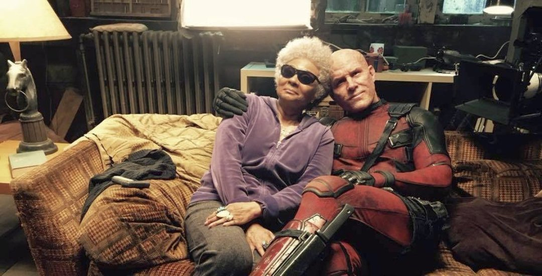 New Deadpool 2 Set Photo Featuring Wade Wilson & Blind Al