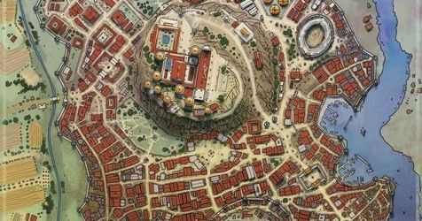 Elven City Map 7