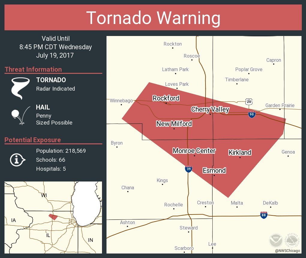 hight resolution of nws chicagoverified account