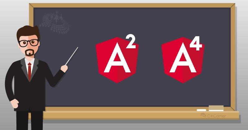 Difference Between #Angular2 And #Angular4 by @satheesh677 cc @CsharpCorner  #Angular