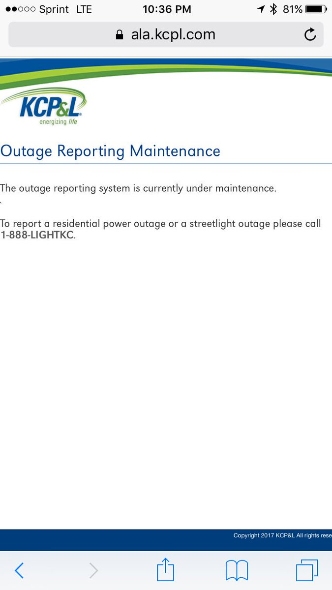 Kcpl Power Outage : power, outage, برچسب, #kcpl, توییتر