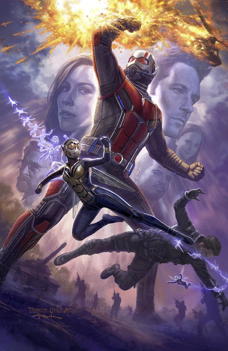 Ant-Man and the Wasp Comic-Con Poster Unveiled
