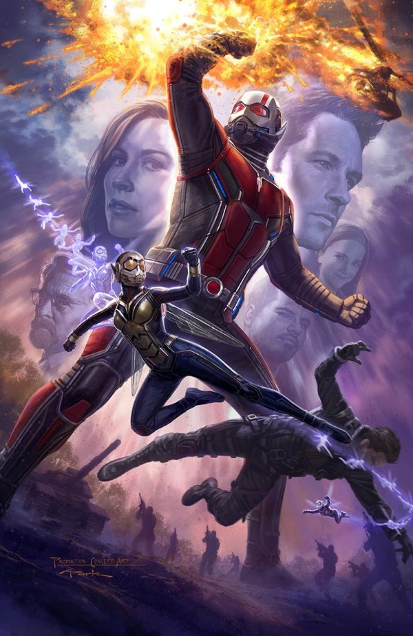 Eerste concept art van Ant-Man and the Wasp