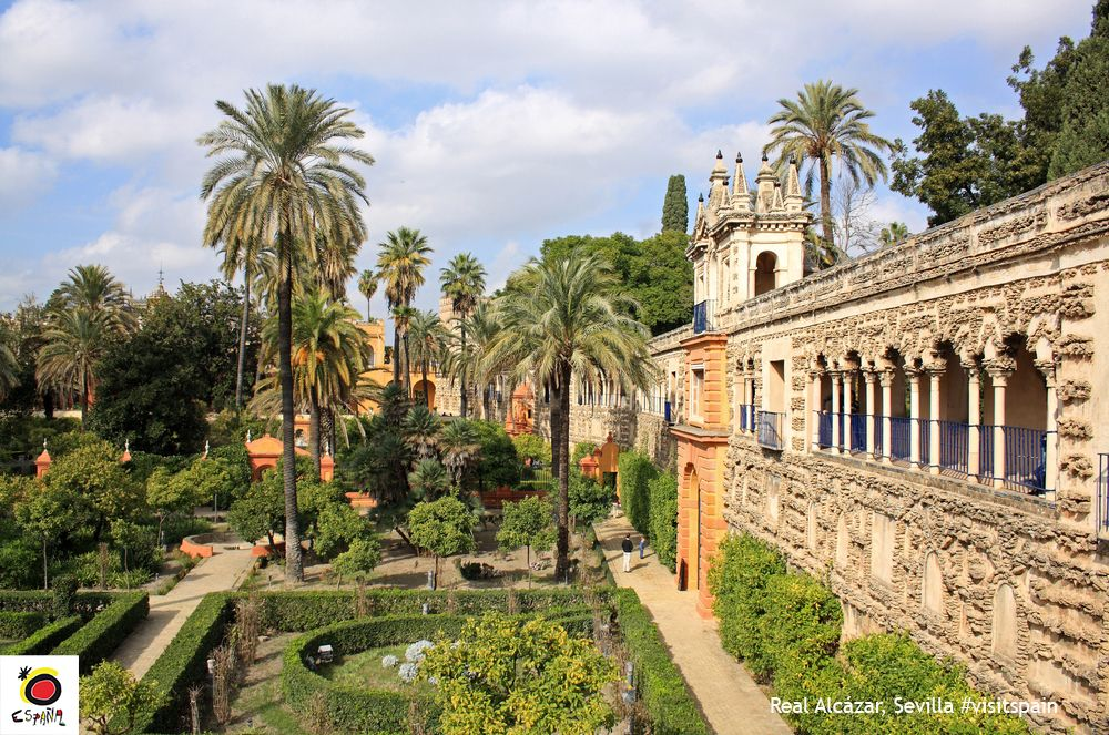 Spain On Twitter Let The Beauty Of Seville S Real Alcazar