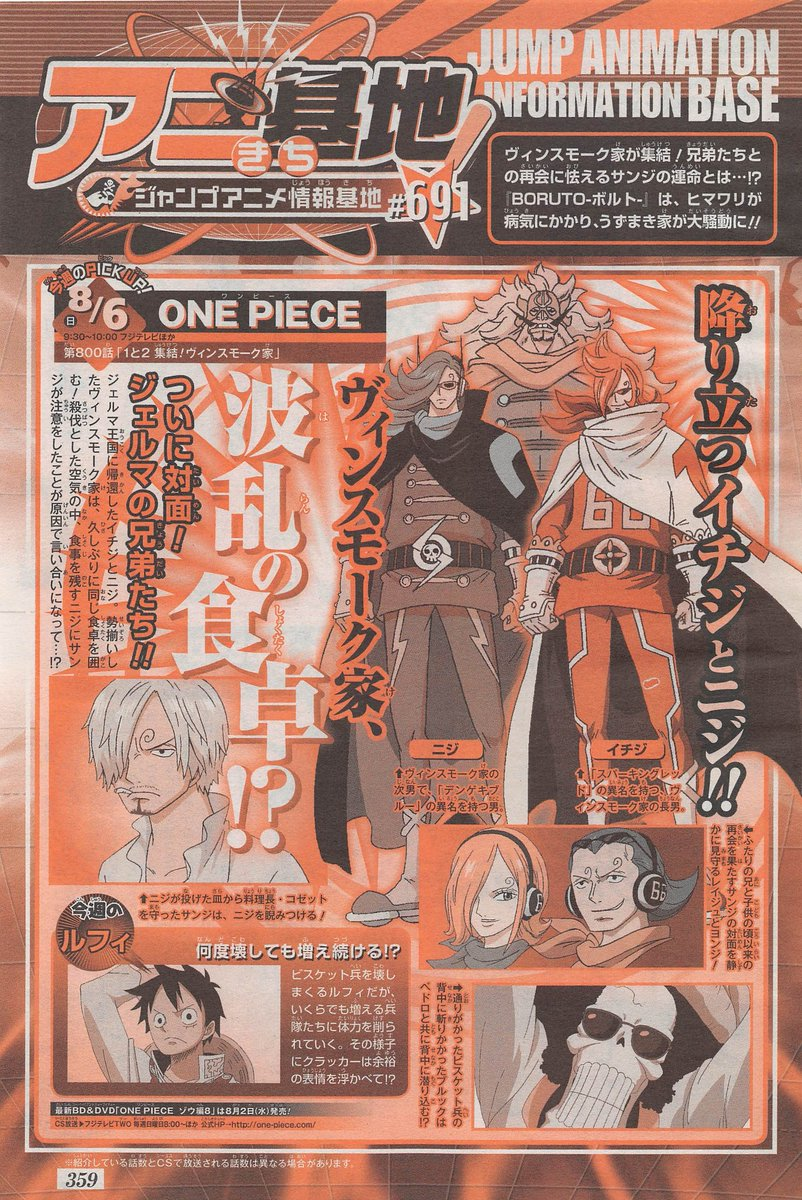 Watch One Piece Episode 800 in high 1080p quality.