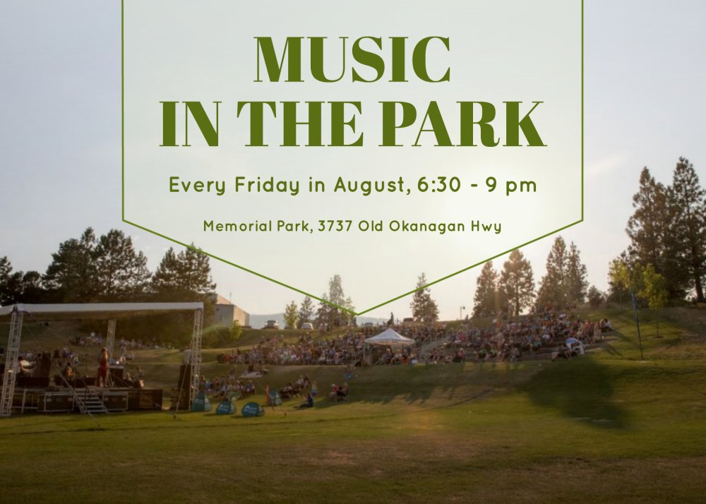 test Twitter Media - Music in the Park is going Country tonight with the Westbank Country Opry hitting the stage. #WestKelowna #Okanagan https://t.co/rkGSbXlecE